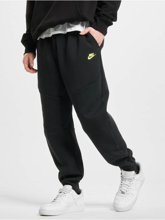 Nike Spodnie do joggingu M Nsw Tch Flc Jggr czarny
