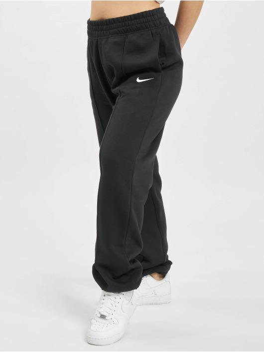 Nike Spodnie do joggingu W Nsw Essntl Flc Hr Pnt czarny