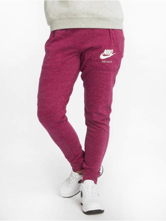 Nike Spodnie do joggingu Sportswear Gym Vintage czerwony
