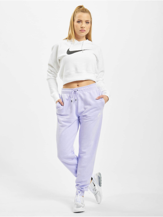 Nike Spodnie do joggingu Essential Regular Fleece fioletowy