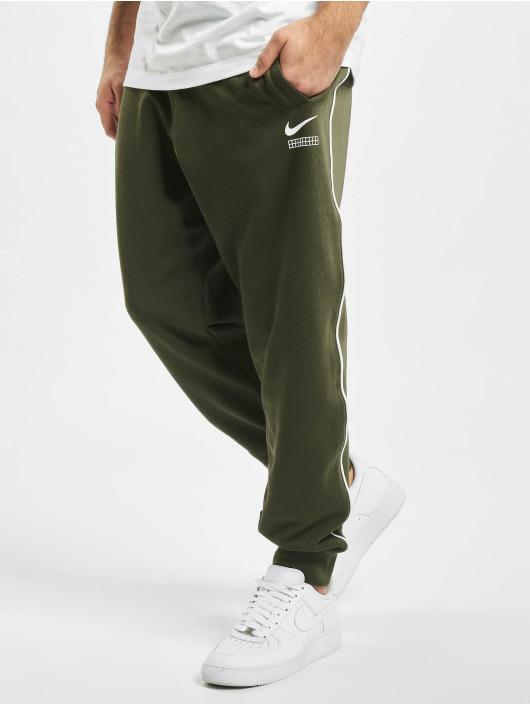 Nike Spodnie do joggingu DNA FT CF khaki