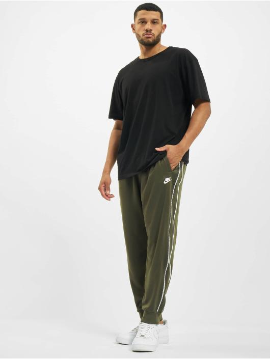 Nike Spodnie do joggingu Repeat PK khaki
