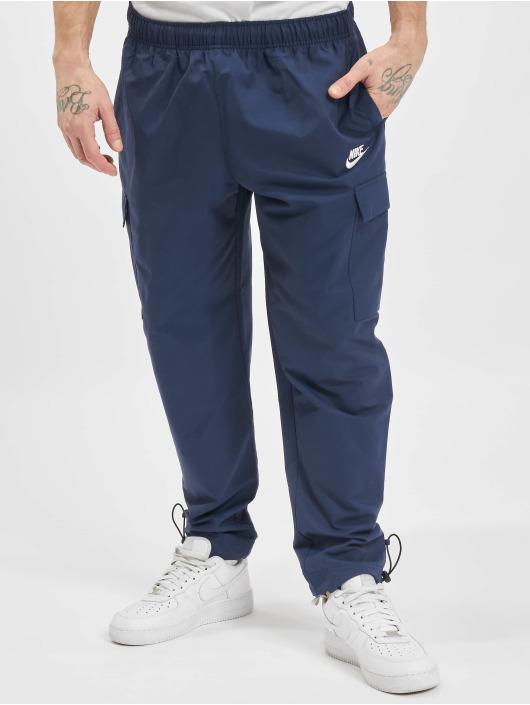 Nike Spodnie do joggingu M Nsw Ce Cf Wvn Players niebieski