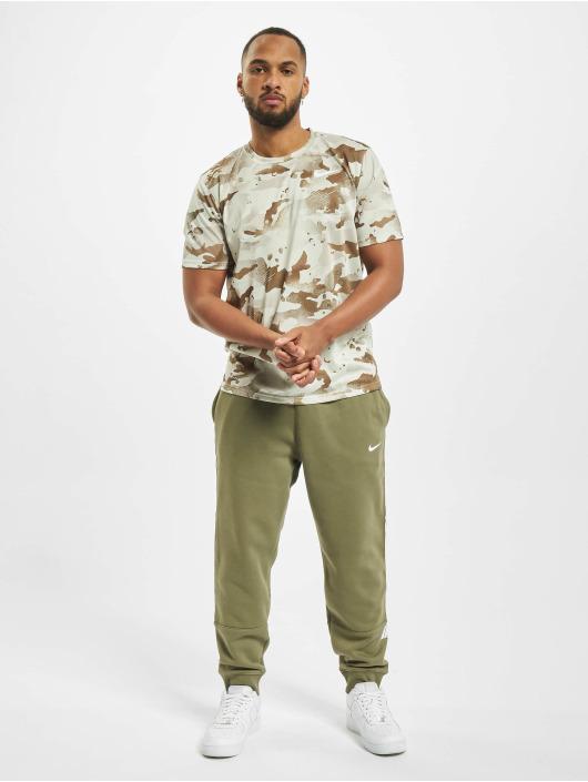 Nike Spodnie do joggingu Repeat Fleece BB oliwkowy