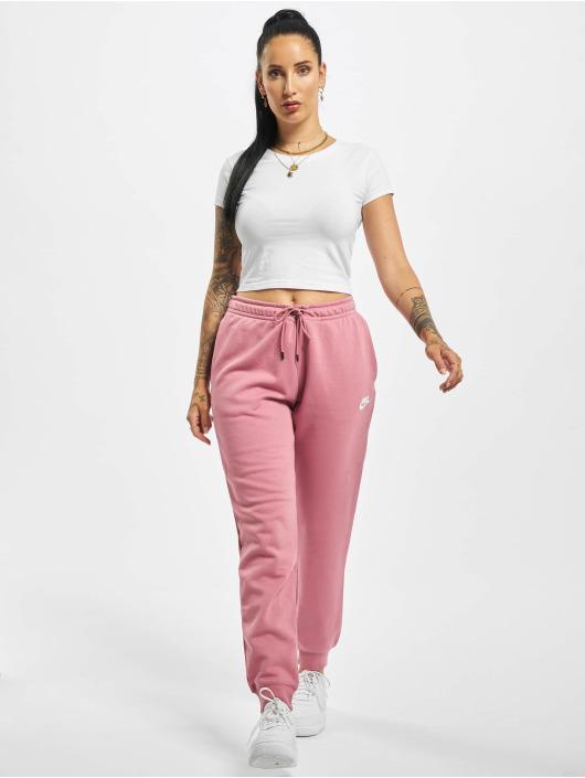 Nike Spodnie do joggingu Essential Regular Fleece rózowy