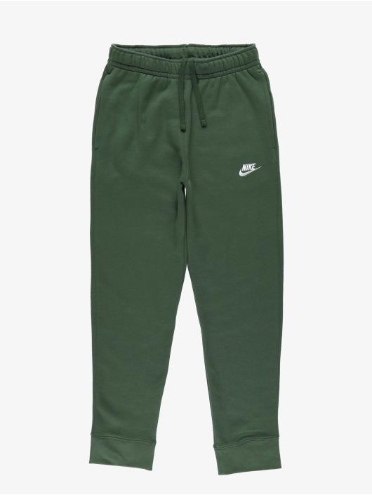 Nike Spodnie do joggingu Club zielony