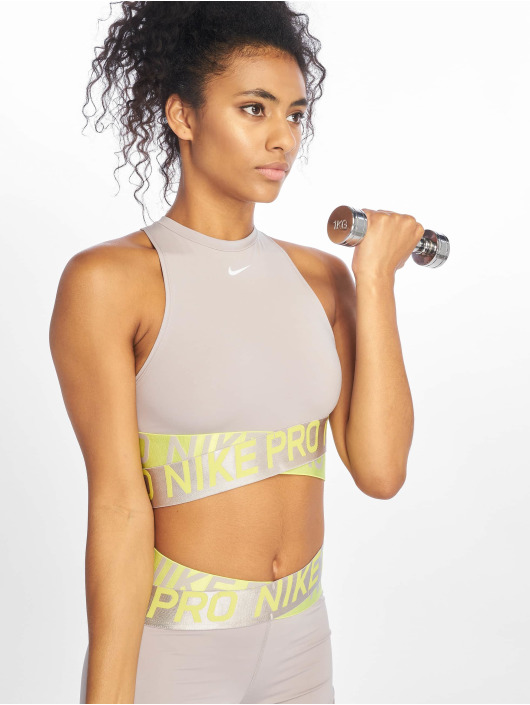 Nike Sport Tanks Intertwist 2 Crop grå