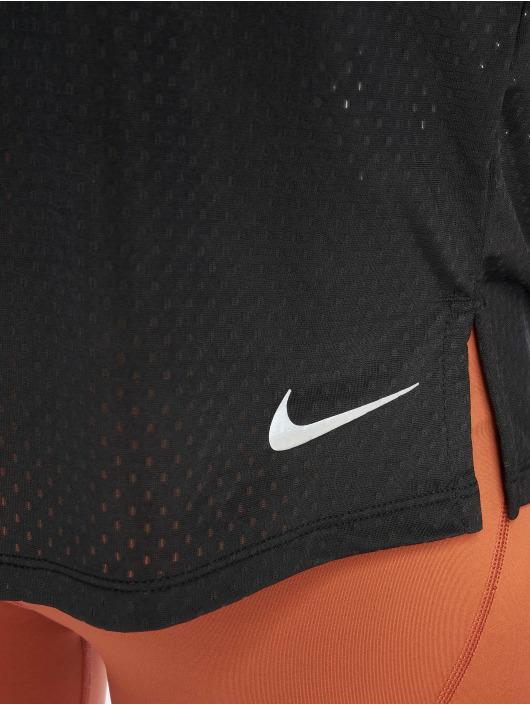 Nike Sport Tanks Miler Breathe svart