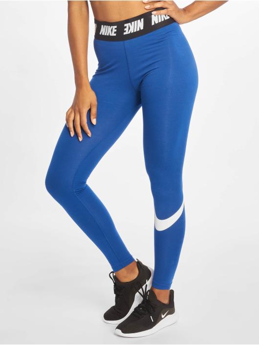 Nike Sportleggings Club HW blå