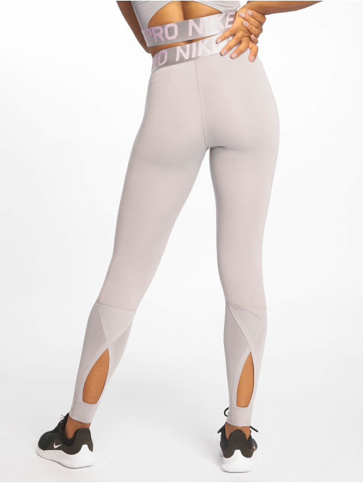 Nike Pro Intertwist 2.0 Tight Leggings Atmosphere GreyPink RiseWhite