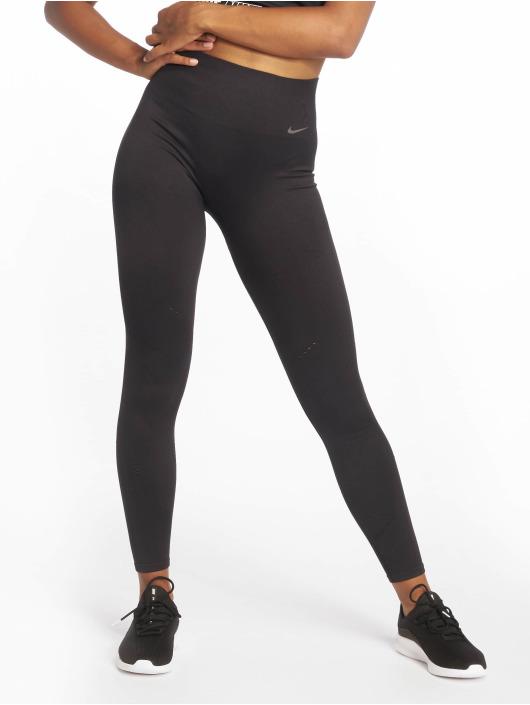 Nike Sportleggings Power Tight Studio Seamless Vnr svart
