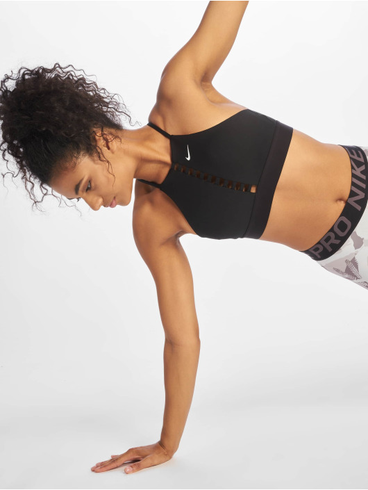 Nike Sports-BH Indy Lattice svart