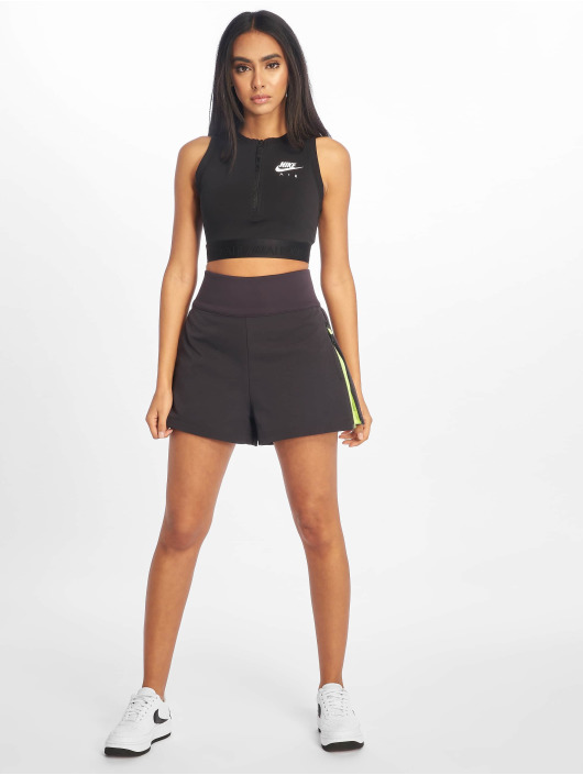 Nike Sportshirts Air Crop èierna