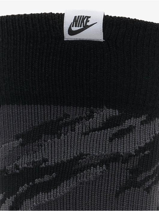 Nike Strumpor Crew Camo svart