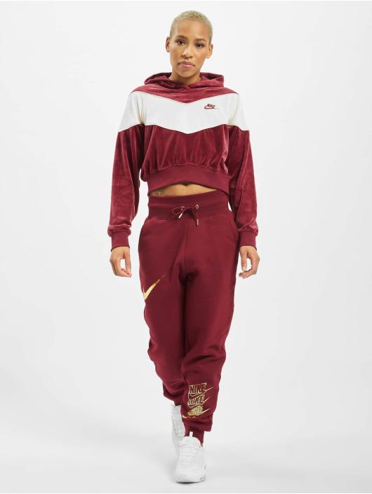 Nike Sudadera Heritage rojo