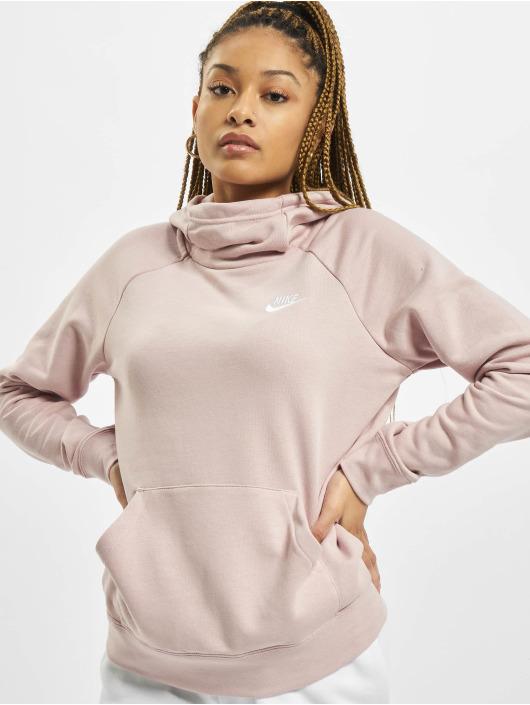 Nike Sudadera Essntl Flc rosa