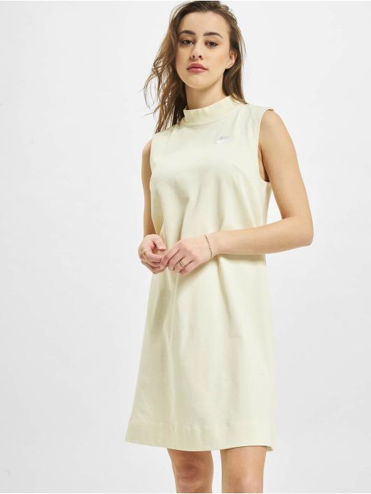 Nike Sukienki W Nsw Jrsy bezowy