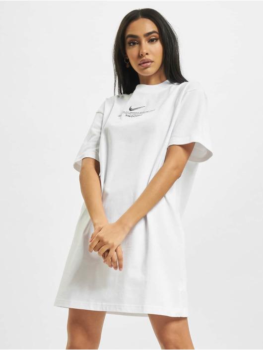 Nike Sukienki W Nsw Swsh SS bialy