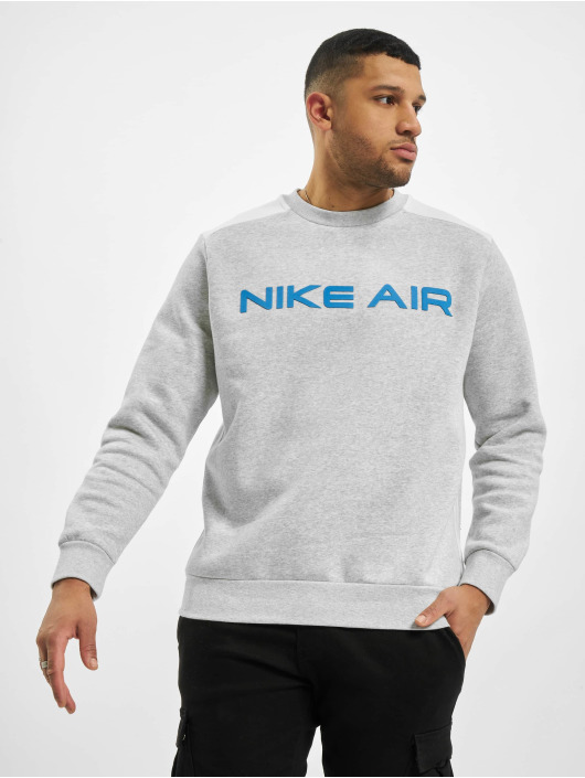Nike Svetry M Nsw Air Flc Crew šedá