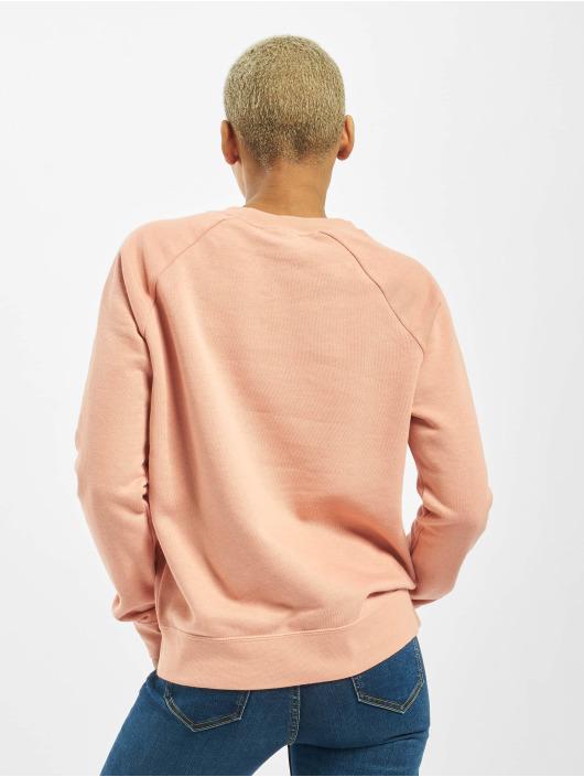 Nike Svetry Essential Crew Fleece růžový
