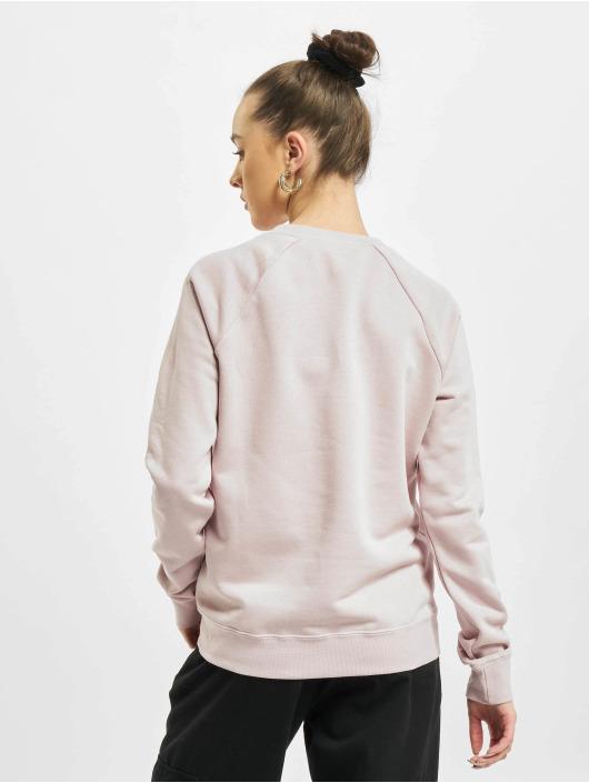 Nike Svetry W Nsw Essntl Flc růžový