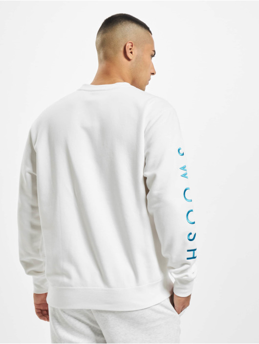 Nike Swoosh Crew SBB Sweatshirt WhiteLt Current BlueVolt