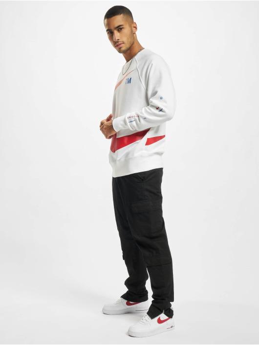 Nike Sweat & Pull Swoosh Crew blanc