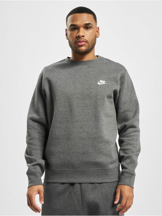 Nike Sweat & Pull M Nsw Club Crw Bb gris