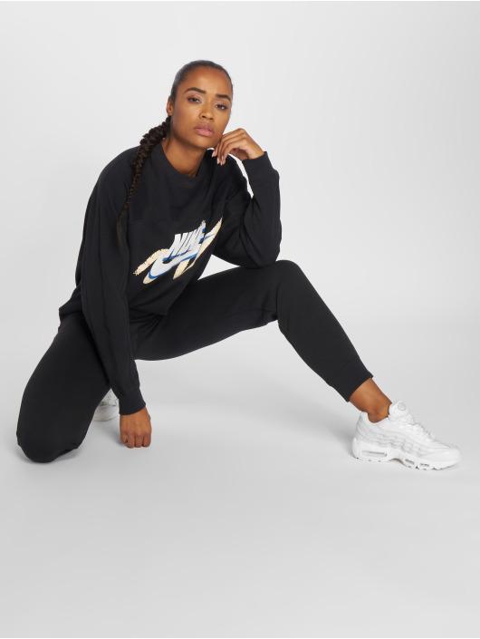 Nike   Sportswear noir Femme Sweat   Pull 466894 14f9d822fd8a
