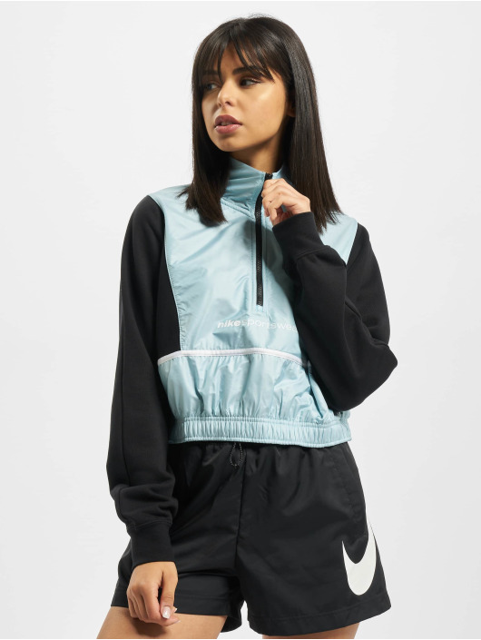 Nike Sweat & Pull QZ Archive Remix noir