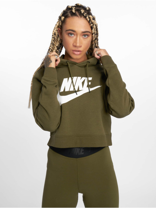 Amp; Rally Svywxqv1az Sweat Femme Olive 538450 Nike Pull Sportswear oexrCdB