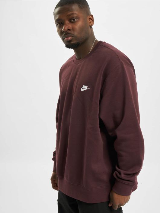 Nike Sweat & Pull M Nsw Club Crw Bb rouge