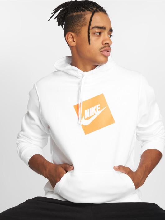 Nike   Sportswear blanc Homme Sweat capuche 501324 43889aa31d21