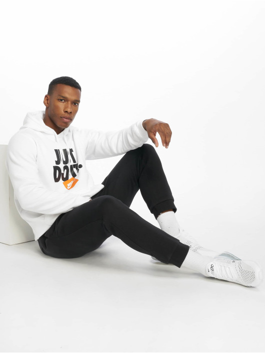 Nike Sweat capuche JDI PO Fleece blanc