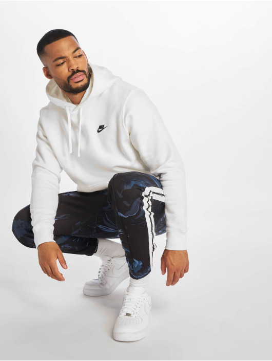 Nike Sweat capuche Club PO BB Hoody blanc
