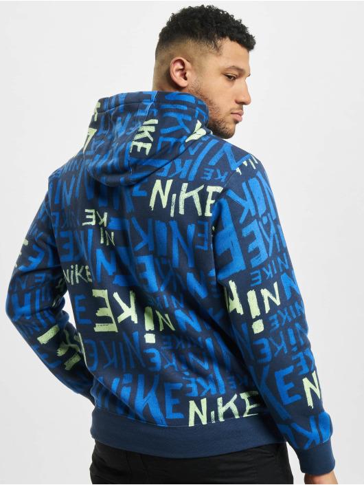 Nike Sweat capuche Club BB bleu