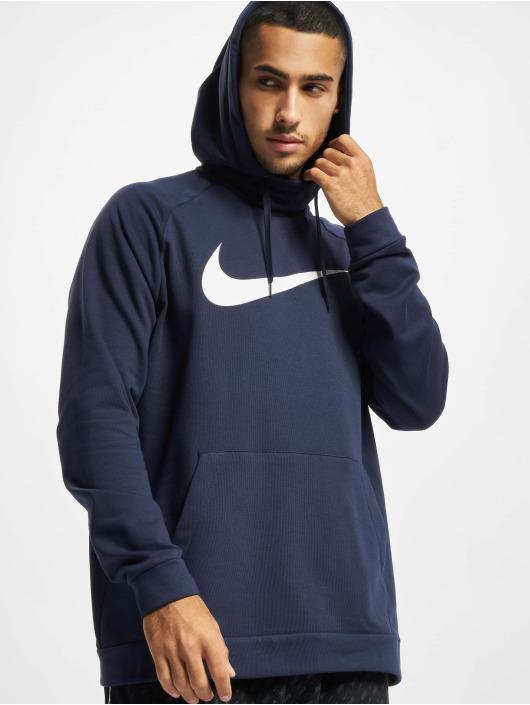 Nike Sweat capuche Dri-Fit Swoosh bleu
