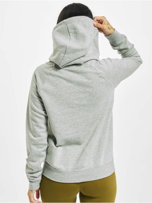 Nike Sweat capuche Essential Fleece Longsleeve gris