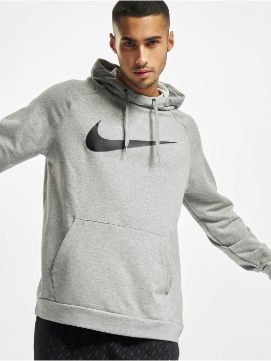 Nike Sweat capuche Dri-Fit Swoosh gris