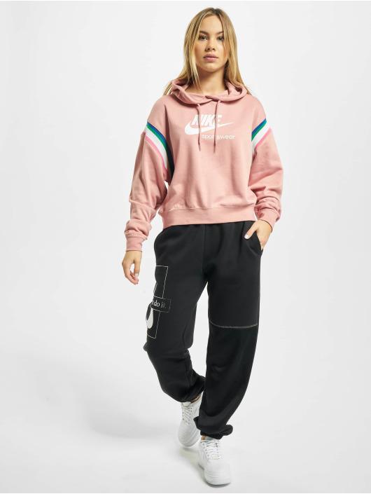Nike Sweat capuche Heritage magenta