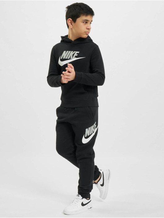 Nike Sweat capuche Club HBR PO noir