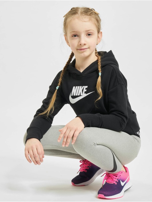 Nike Sweat capuche Crop noir