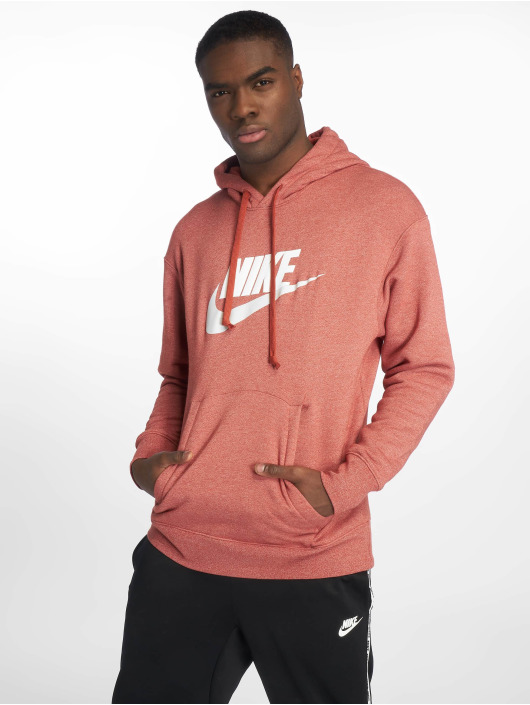 587381 Flecked Capuche Rouge Sweat Nike Homme EH2IW9YeDb