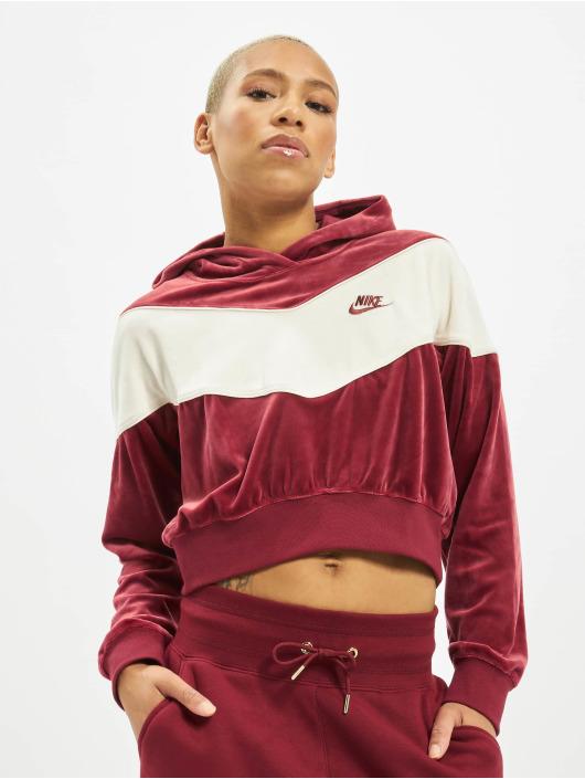 Nike Sweat capuche Heritage rouge