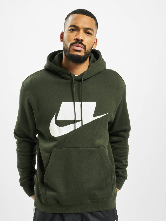 Nike Sweat capuche PO vert