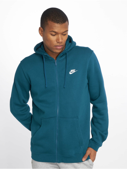 Nike Sweat capuche zippé Sportswear bleu