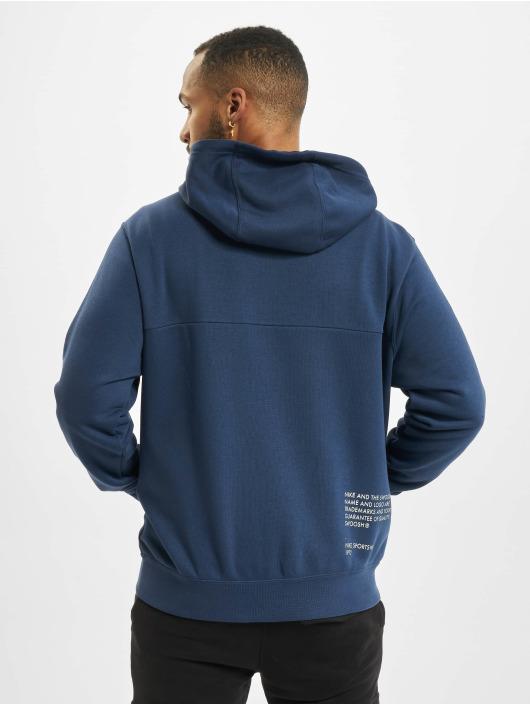 Nike Sweat capuche zippé Swoosh bleu