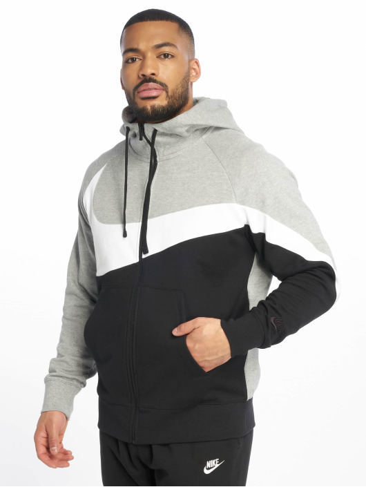 Nike Sweat capuche zippé HBR FZ FT gris