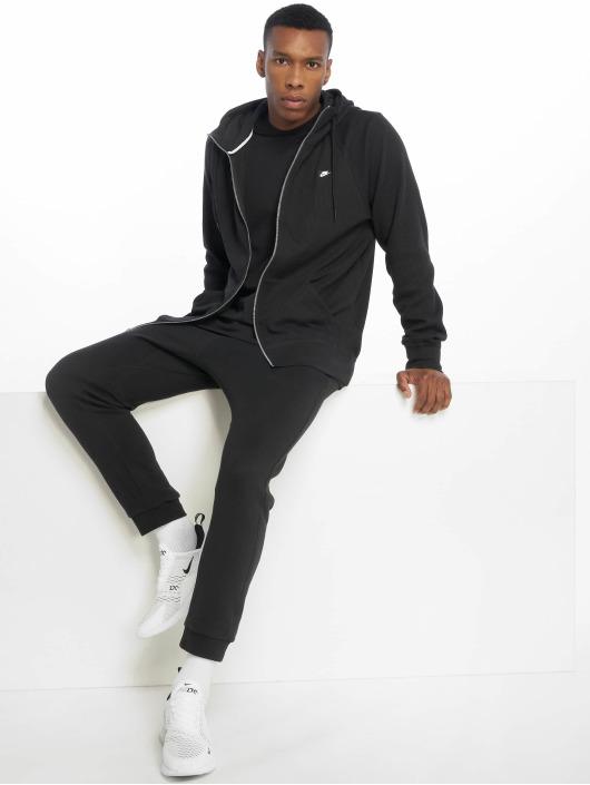 Nike Sweat capuche zippé Me Hoodie FZ Waffle noir