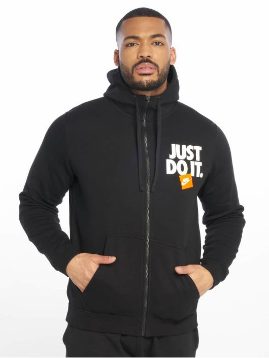 Nike Sweat capuche zippé JDI FZ Fleece noir